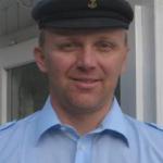 Kapitän und Eigner Lukas Käppeli
